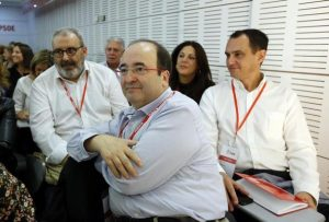 Javi Martinez. 23/10/2016. Madrid. Comunidad de Madrid.  Reunion del Comite Federal del PSOE en Ferraz presidido por Javier Fernandez. En la foto Miquel Iceta.